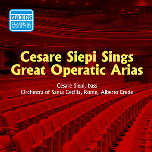 Siepi, Cesare: Great Operatic Arias (1955) by Cesare Siepi
