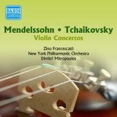 Play & Download Mendelssohn / Tchaikovsky: Violin Concertos (Francescatti) (1955) by Dimitri Mitropoulos | Napster