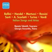 Vocal Recital: Tebaldi, Renata - Scarlatti, A. / Handel, G.F. / Sarti, G. / Rossini, G. / Bellini, V. / Martucci, G. / Favara, A. / Masetti, E. (1956) von Renata Tebaldi