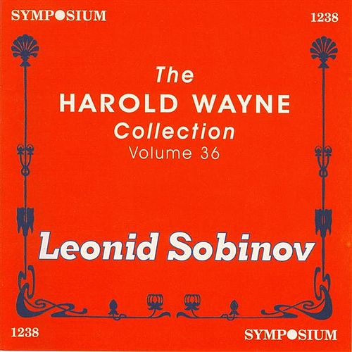 The Harold Wayne Collection, Vol. 36 (1901, 1904) by Studio pianist