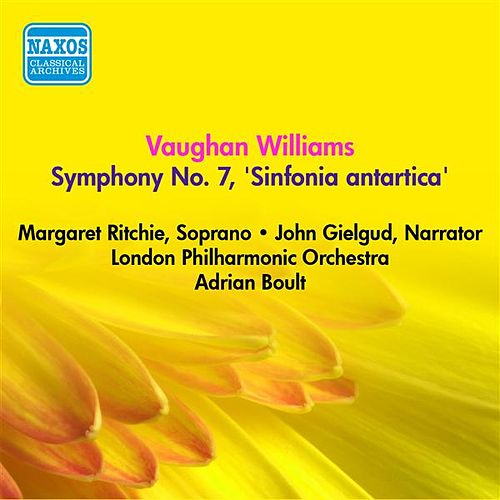Vaughan Williams, R.: Symphony No. 7, 'Sinfonia Antartica' (Boult) (1953) by Margaret Ritchie
