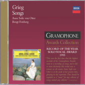 Play & Download Grieg: Songs by Anne-sofie Von Otter | Napster