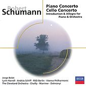 Schumann: Piano Concerto; Cello Concerto, etc. by Various Artists