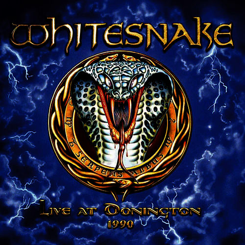 Live At Donington 1990 by Whitesnake