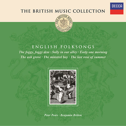 Play & Download Britten: Folksongs by Sir Peter Pears | Napster