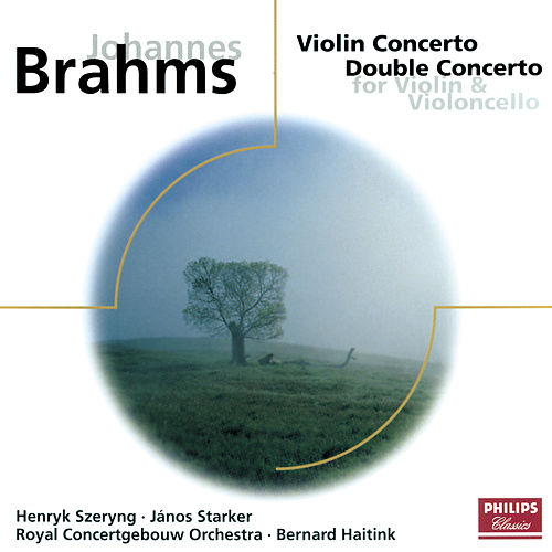 Brahms: Violin Concerto/Concerto for Violin & Cello by Henryk Szeryng