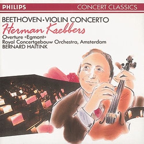 Beethoven: Violin Concerto/Egmont Overture by Various Artists