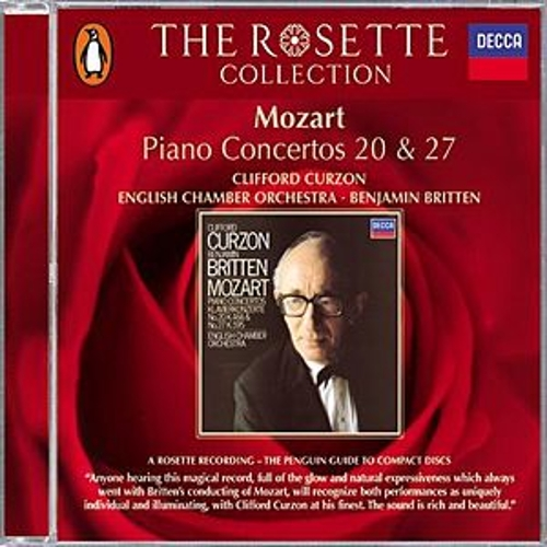 Mozart: Piano Concertos Nos.20 & 27 by Sir Clifford Curzon