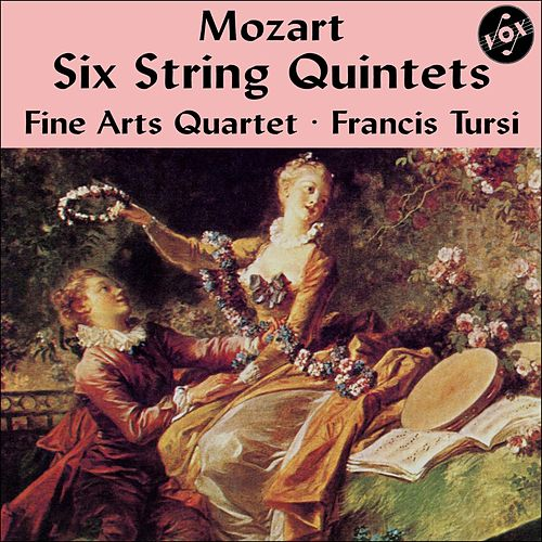 Play & Download Mozart: Six String Quintets (Complete) [Vox Reissue] by Fine Arts Quartet | Napster