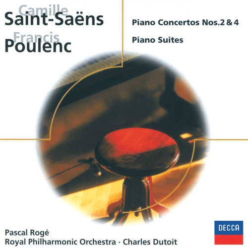 Play & Download Saint-Saëns: Piano Concertos Nos. 2 & 4/Poulenc: 3 mouvements perpétuels, etc. by Pascal Rogé | Napster