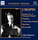 Chopin Recording (1946-1958) by Arthur Rubinstein