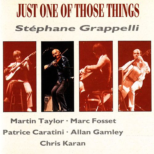 Play & Download Just one of those things by Allan Ganley | Napster