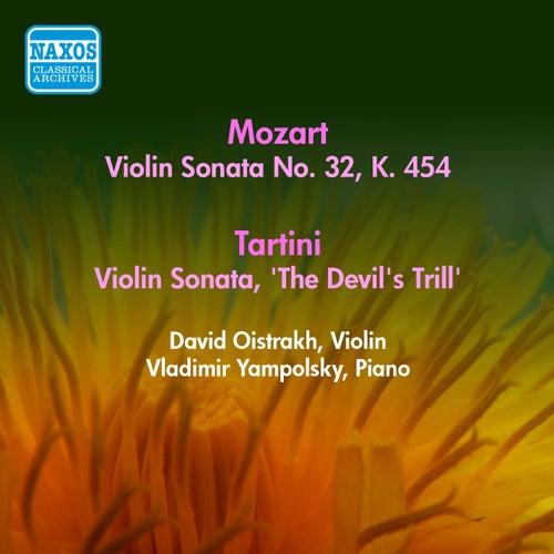 Play & Download Mozart, W.A.: Violin Sonata No. 32, K. 454 / Tartini, G.: Violin Sonata, 'The Devil's Trill' (Oistrakh) (1956) by David Oistrakh | Napster