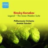 Play & Download Rimsky-Korsakov, N.: Legend / The Snow Maiden Suite (Philharmonia, Fistoulari) (1953) by Anatole Fistoulari   Napster