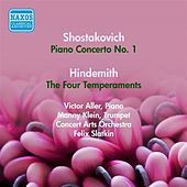 Play & Download Shostakovich, D.: Piano Concerto No. 1 / Hindemith, P.: The 4 Temperaments (Aller) (1953) by Felix Slatkin | Napster