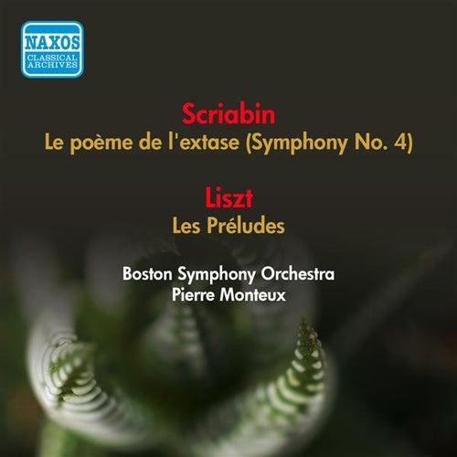Play & Download Scriabin, A.: Poeme De L'Extase (La) / Liszt, F.: Les Preludes (Boston Symphony, Monteux) (1952) by Various Artists | Napster