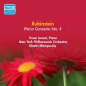 Play & Download Rubinstein, A.: Piano Concerto No. 4 (Levant, Mitropoulos) (1952) by Dimitri Mitropoulos | Napster