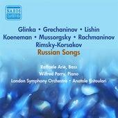 Vocal Recital (Bass): Arie, Raphael - Mussorgsky, M.P. / Glinka, M.I. / Lishin, G. / Grechaninov, A.T. (Recital of Russian Songs) (1953) by Raphael Arie