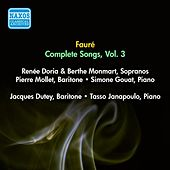 Play & Download Faure, G.: Songs (Complete), Vol. 3 - Opp. 51, 57, 58, 61 (Doria, Monmart, Dutey, Mollet) (1955) by Various Artists | Napster