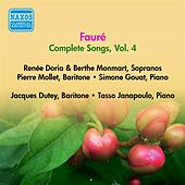 Play & Download Faure, G.: Songs (Complete), Vol. 4 - Opp. 72, 76, 83, 85, 87, 94, 95 (Doria, Monmart, Dutey, Mollet) (1955) by Various Artists | Napster