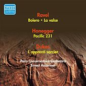 Ravel, M.: Bolero / Honegger, A.: Pacific 231 / Dukas, P.: The Sorcerer's Apprentice / Ravel, M.: La Valse (Ansermet) (1954) by Ernest Ansermet