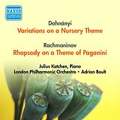 Dohnanyi, E.: Variations On A Nursery Theme / Rachmaninov, S.: Rhapsody On A Theme of Paganini (Katchen, London Philharmonic, Boult) (1954) by Adrian Boult