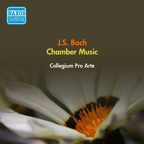 Play & Download Bach, J.S.: Flute Sonatas, Bwv 1034, 1038 / Violin Sonata, Bwv 1021 / Trio Sonata, Bwv 1036 (Collegium Pro Arte) (1953) by Collegium Pro Arte | Napster