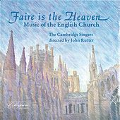 Faire Is The Heaven - Music Of The English Church von Various Artists