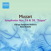 Mozart: Symphonies Nos. 34 and 38 by Rafael Kubelik