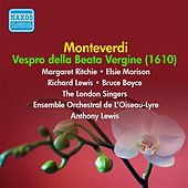 Play & Download Monteverdi: Vespro della Beata Vergine (1952-1953) by Margaret Ritchie | Napster