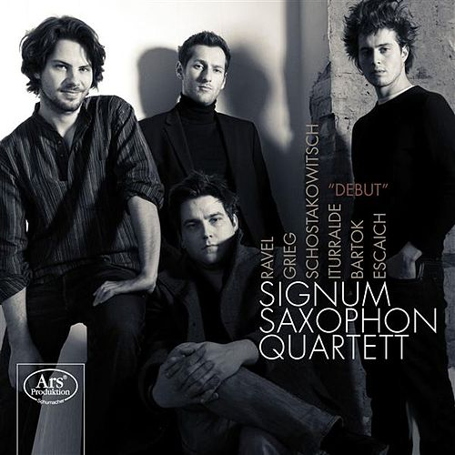 Play & Download Debut by Signum Saxophone Quartet | Napster