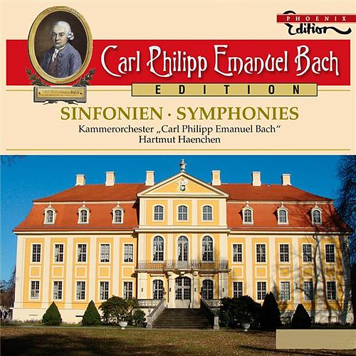 Play & Download C.P.E. Bach: Sinfonien by Hartmut Haenchen | Napster