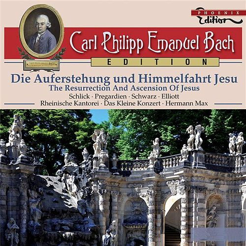 Play & Download C.P.E. Bach: Die Auferstehung und Himmelfahrt Jesu by Various Artists | Napster