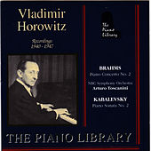 Play & Download Brahms: Piano Concerto No.2 - Kabalevsky: Piano Sonata No. 2 by Vladimir Horowitz | Napster