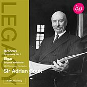 Brahms: Symphony No. 1 - Elgar: Enigma Variations by Adrian Boult