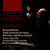 Play & Download Wilson: Triple Concerto for Horn, Marimba and Bass Clarinet by American Symphony Orchestra | Napster