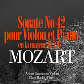 Play & Download Mozart: Sonate No. 42 en la majeur pour violon et piano, K. 526 by Arthur Grumiaux | Napster