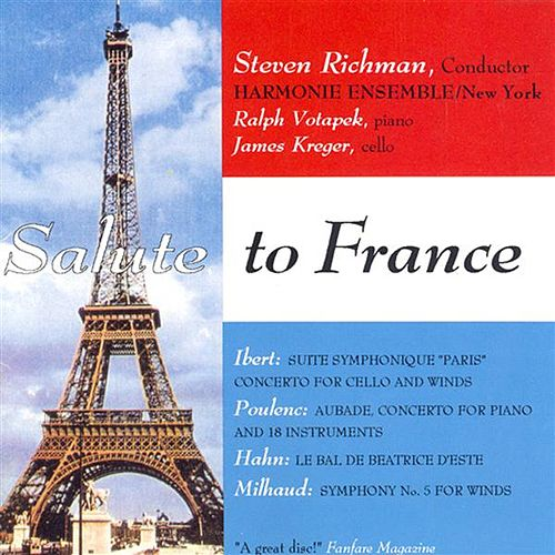 Play & Download Hahn: Le Bal De Beatrice D'Este / Milhaud: Symphonie De Chambre No. 5 / Ibert: Cello Concerto / Suite Symphonique, 'Paris' / Poulenc: Aubade by Steven Richman | Napster