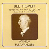 Play & Download Beethoven: Symphony No. 9 (Furtwangler) (1943) by Hjordis Schymberg | Napster