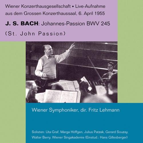 Bach: St. John Passion von Julius Patzak