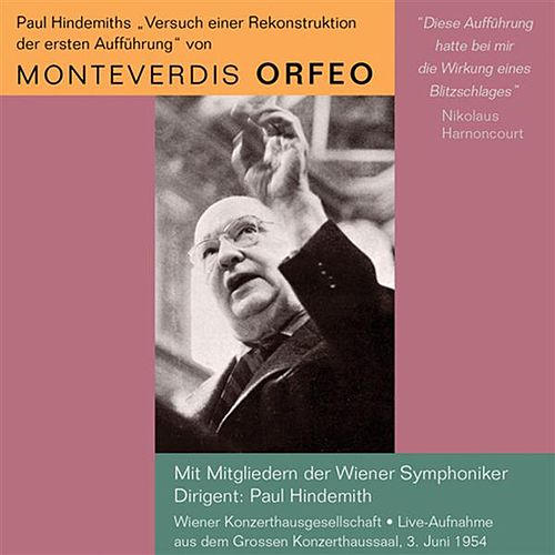 Monteverdis Orfeo (1954) by Various Artists