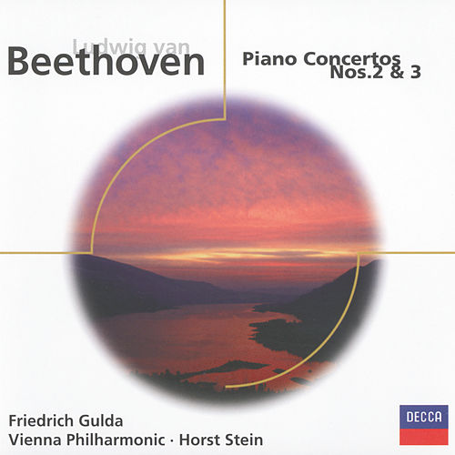 Beethoven: Piano Concertos Nos.2 & 3 by Friedrich Gulda