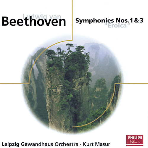 Play & Download Beethoven: Symphonies Nos.1 & 3 by Gewandhausorchester Leipzig | Napster
