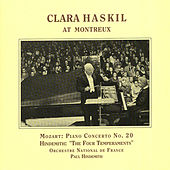 Play & Download Mozart: Piano Concerto No. 20 / Hindemith: 4 Temperaments (Haskil, Hindemith) (1957) by Clara Haskil | Napster