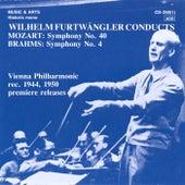 Wilhelm Furtwangler Conducts Mozart & Brahms by Wilhelm Furtwängler