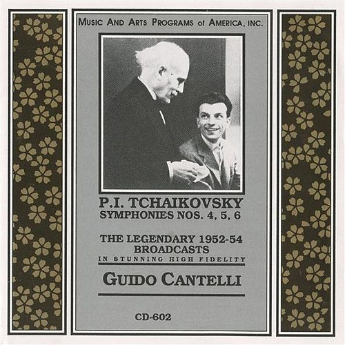 Tchaikovsky: Symphonies Nos. 4-6 by Guido Cantelli