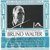 Play & Download Tchaikovsky: Symphony No. 5 - Schumann: Symphony No. 4 by Bruno Walter | Napster
