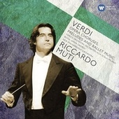 Verdi: Opera Choruses; Overtures & Ballet music by Various Artists