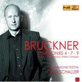 Play & Download Bruckner: Symphonies Nos. 4, 7 & 9 by Gerd Schaller | Napster