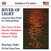 Play & Download River of Light: American Short Works for Violin and Piano by Tim Fain | Napster